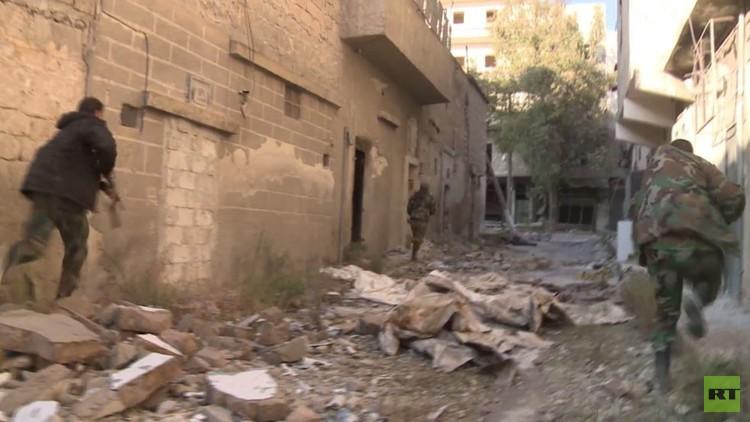 هجوم مضاد للمسلحين شرق حلب في القاطرجي وحي الميسر