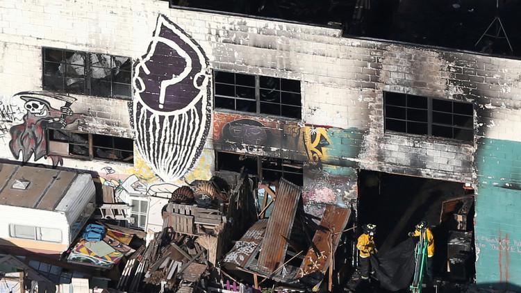 حريق أوكلاند.. عدد الضحايا يرتفع إلى 36 قتيلا
