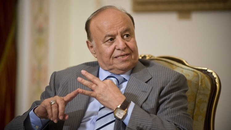 هادي يطالب بنفي صالح والحوثي 10 أعوام
