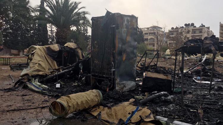 التحالف: لا نستطيع تخمين من قصف المستشفى الروسي في حلب