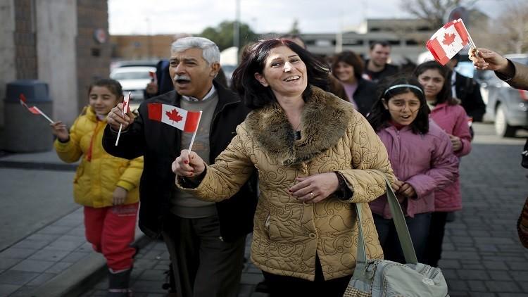 كندا تستقبل 35 ألف لاجئ سوري