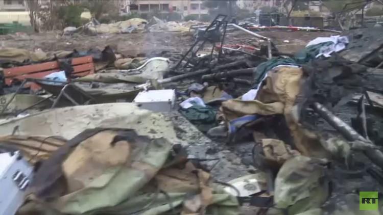 مقتل ممرضتين روسيتين بقصف مشفى في حلب
