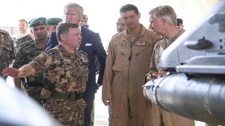 ملك الأردن يحضر تمرينا عسكريا مشتركا مع ألمانيا