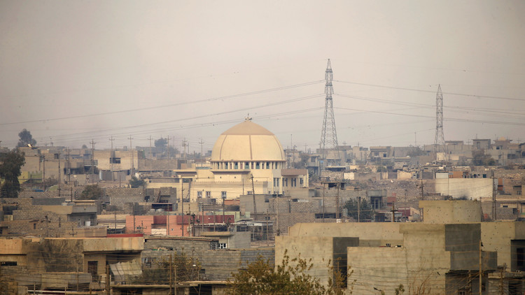 الموصل أصبحت جوزة صلبة