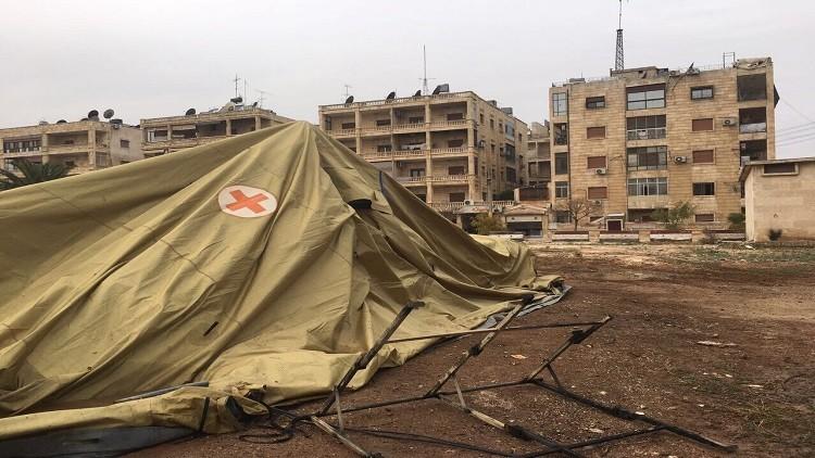 دمشق تدين بشدة استهداف المشفى الروسي بحلب