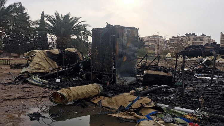 وزارة الدفاع: حالة المصاب بقصف المشفى الميداني بحلب مستقرة