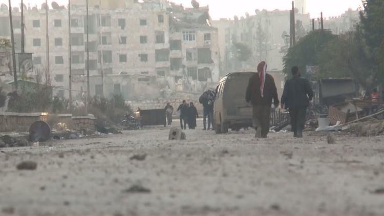 تواصل عمليات الجيش السوري على أكثر من محور في البلاد