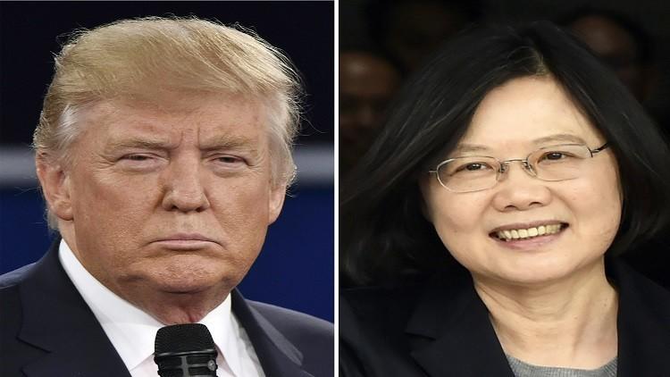 رئيسة تايوان: اتصالي بترامب لا يعني تحولات كبيرة في السياسة