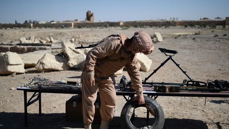 قوات مكافحة الألغام الروسية تبدأ عملياتها في شرق حلب