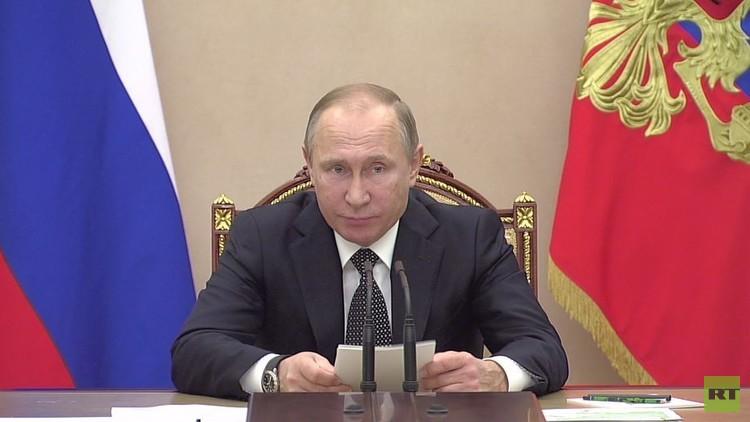 بوتين: العقوبات الاقتصادية تفرض لأغراض سياسية