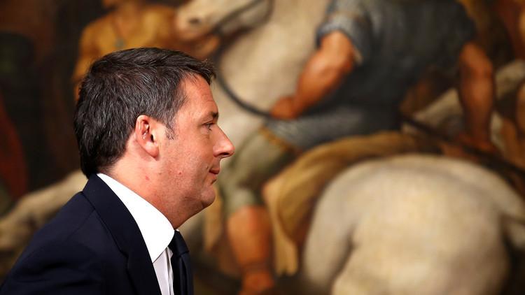 الرئيس الإيطالي يقبل استقالة رئيس الوزراء رينزي