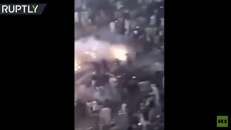 فيديو.. اللحظات الأولى بعد تحطم الطائرة الباكستانية