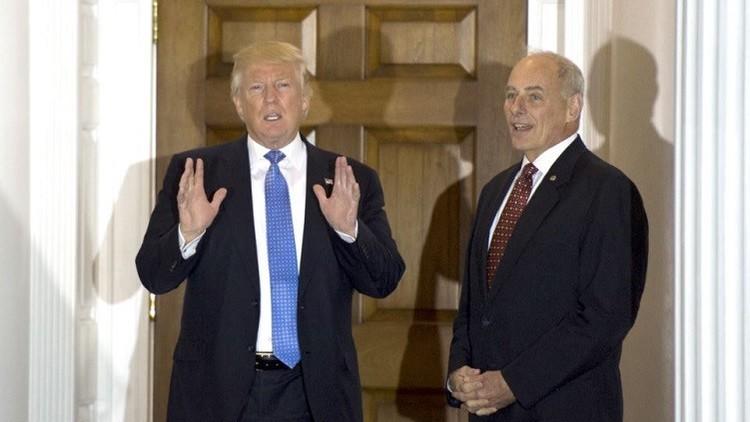 ترامب يرشح جون كيلي لوزارة الأمن الداخلي