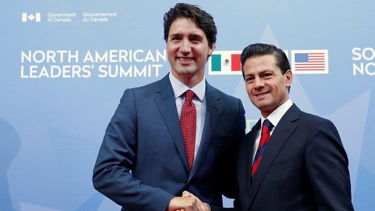 100 ألف دولار كلفة عشاء الرئيس المكسيكي بكندا !