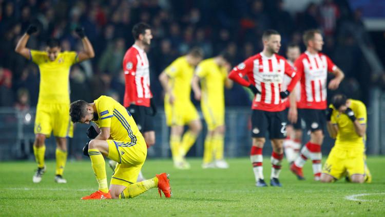 روستوف يتعادل مع آيندهوفن ويواصل المشوار في الدوري الأوروبي