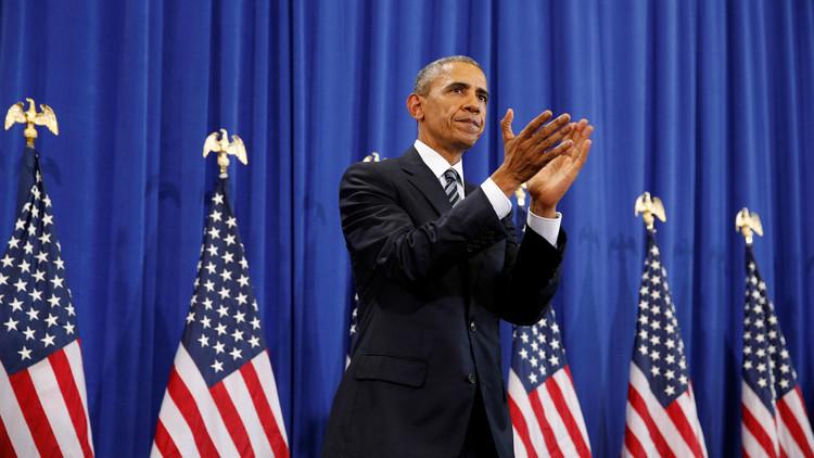أوباما يشكر هولاند على التعاون عبر الأطلسي