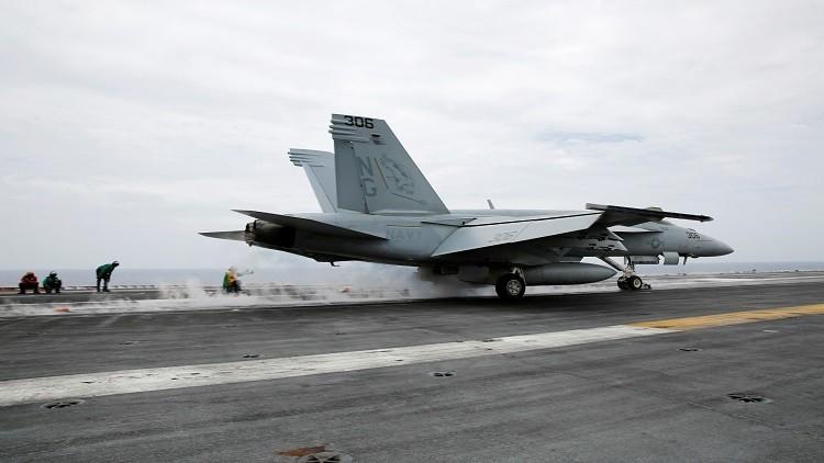 فقدان طيار أمريكي بعد سقوط طائرته قبالة اليابان