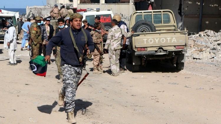 ليبيا.. جثة مسلحي