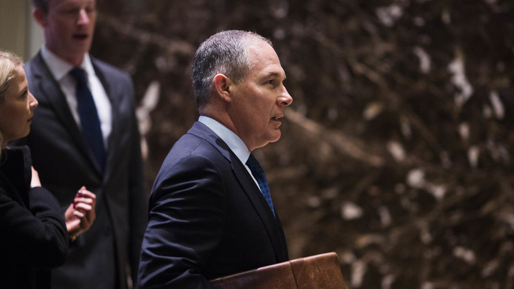 ترامب يثير الانتقادات من جديد بسبب مسؤول البيئة