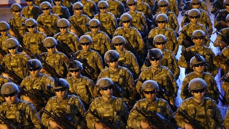 300 عنصر من القوات الخاصة التركية إلى سوريا
