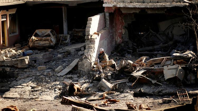 انتشال 22 جثة من تحت أنقاض منزل في الموصل