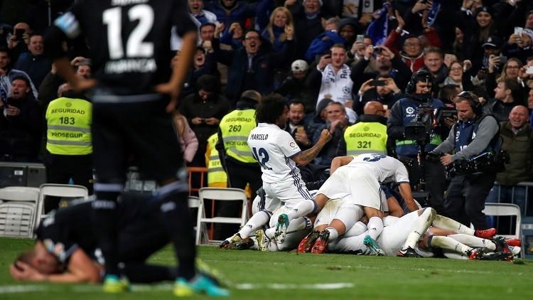 ريال مدريد يضرب في الوقت القاتل !