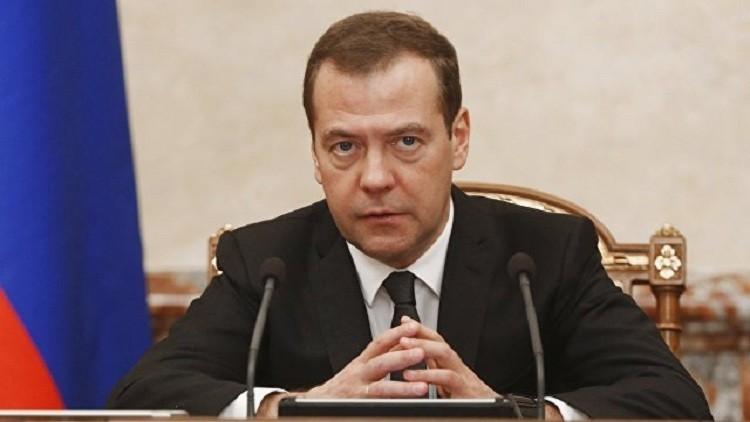 مدفيديف يرد يوم 15 ديسمبر على أسئلة القنوات الروسية
