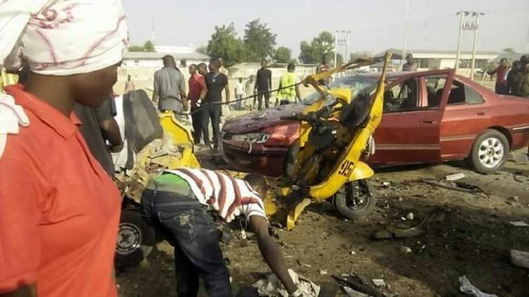 17 جريحا بتفجيرين مزدوجين في سوق مكتظة في نيجيريا