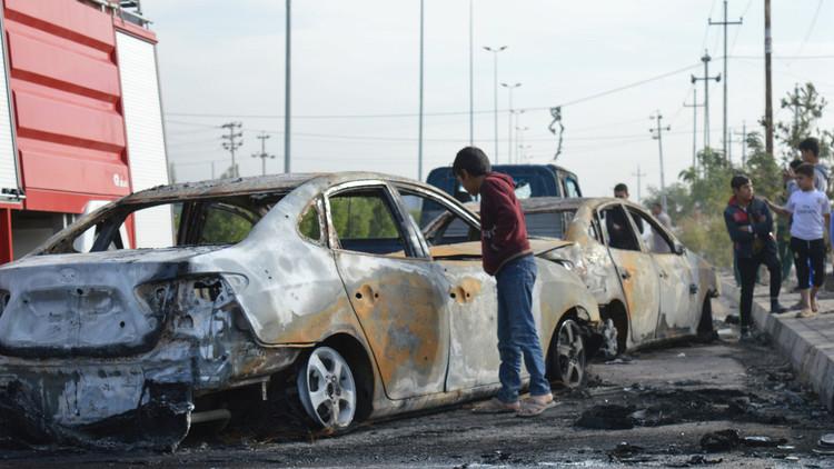 مقتل ثمانية أشخاص بتفجيرين في الفلوجة العراقية