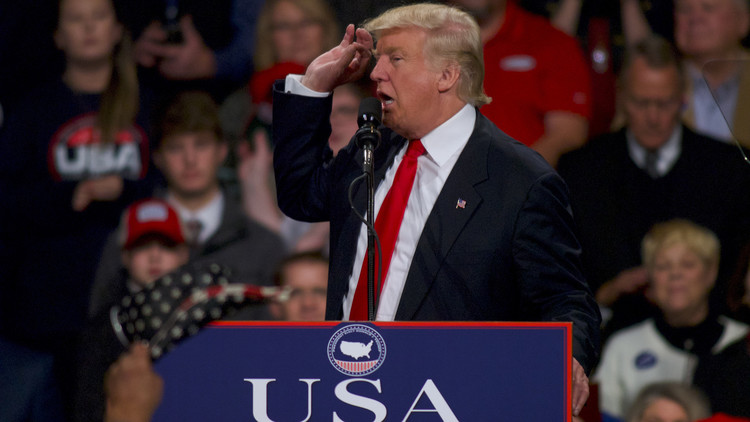 ترامب يعتبر استنتاجات الـCIA حول تدخل روسيا في انتخابه