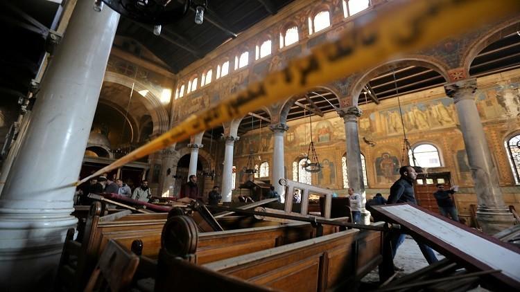 الرئاسة والقوات المسلحة المصرية تتوليان ترتيبات جنازة ضحايا الكنيسة