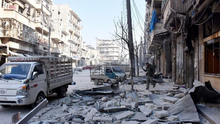 الدفاع الروسية: القوات السورية تسيطر على 95% من حلب