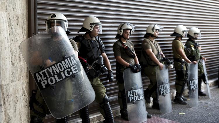 العثور على عبوة ناسفة عند مدخل مقر وزارة العمل اليونانية