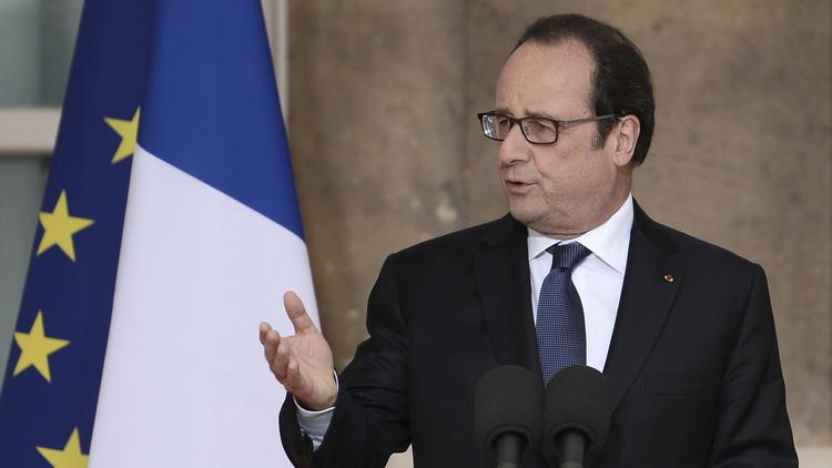 هولاند: فرنسا لن تتخلى عن المعارضة السورية