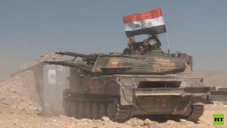 التلفزيون السوري نقلا عن مصدر عسكري ينفي أنباء سيطرة