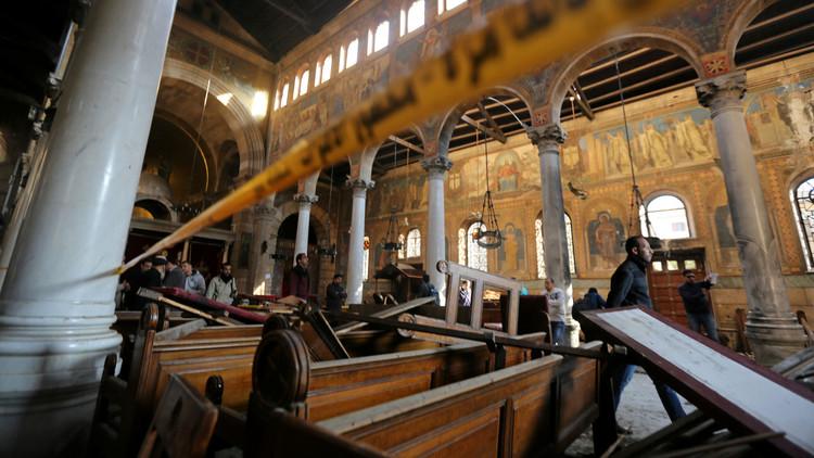 الداخلية المصرية تتهم الإخوان باستهداف الكنيسة القبطية