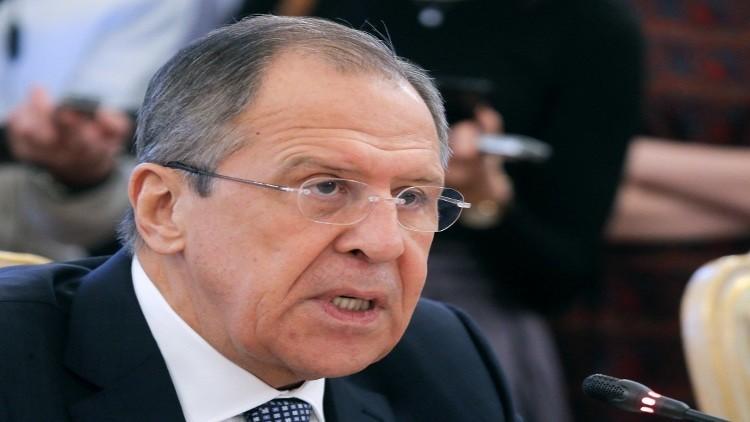 لافروف: نأمل في حشد جبهة دولية موحدة ضد الإرهاب في العام الجديد