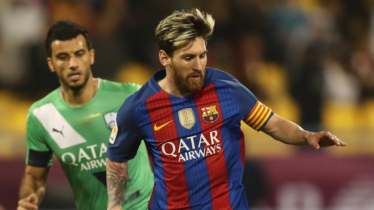 برشلونة يعانق كأس الخطوط الجوية القطرية على حساب الأهلي