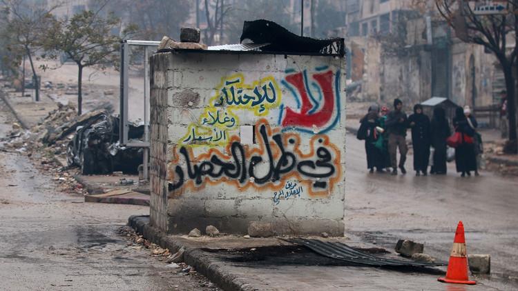 روسيا تأمل في أن تكثف الأمم المتحدة من أنشطتها الإنسانية في حلب