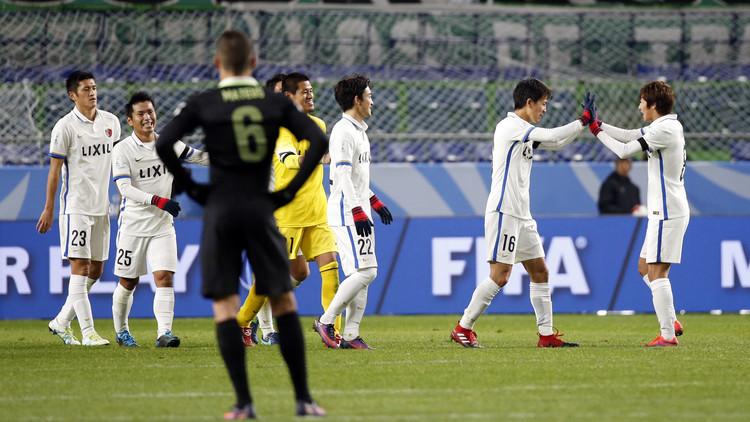 كاشيما الياباني يبلغ نهائي مونديال 2016