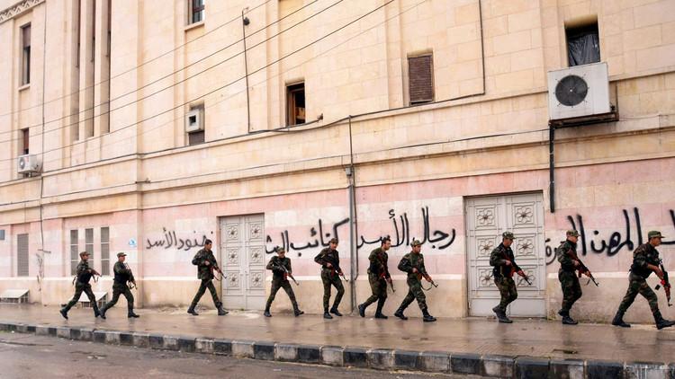 حميميم: المساحة الواقعة تحت سيطرة المسلحين في حلب تقلصت إلى 2.5 كم مربع