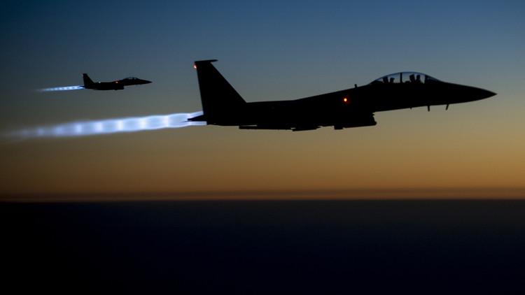 التحالف الدولي الذي تتزعمه الولايات المتحدة يقلع عن قصف