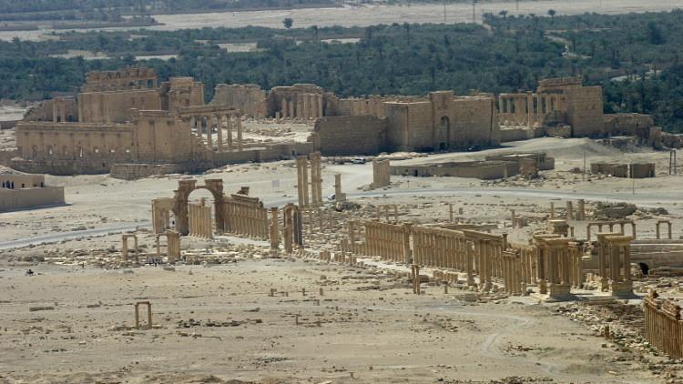 واشنطن قد تضرب تدمر بسبب غنائم داعش