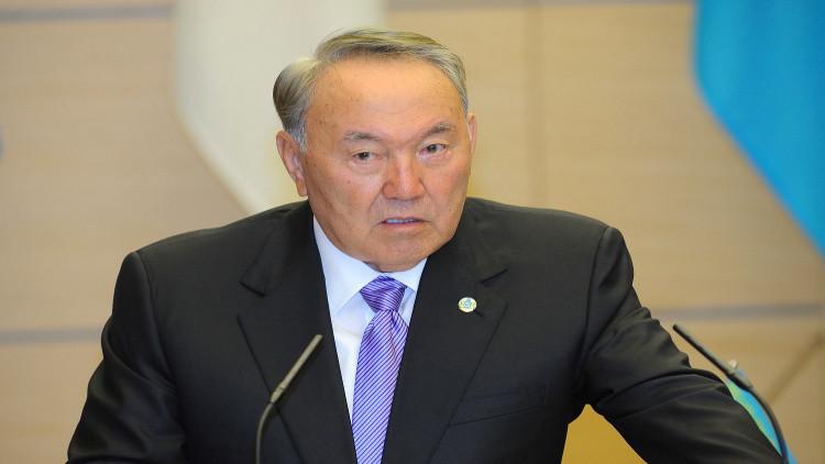 نزارباييف: حان الوقت لإعادة توزيع صلاحيات الرئيس والبرلمان