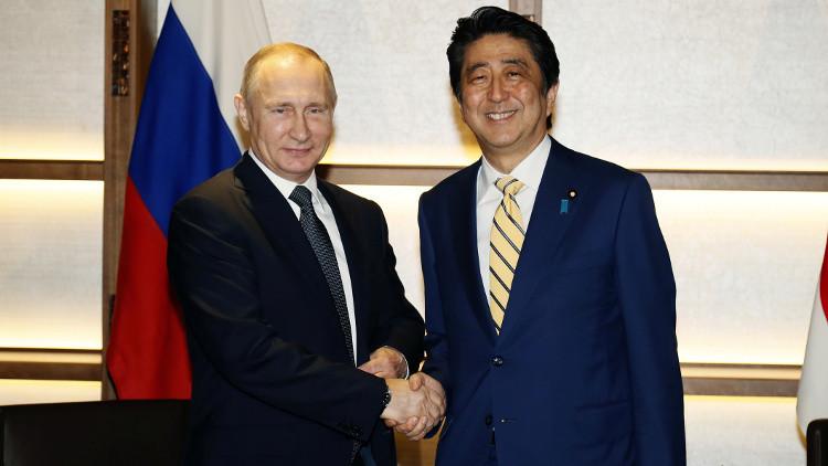بوتين وآبي يتفقان على بدء نشاط اقتصادي مشترك بجزر الكوريل