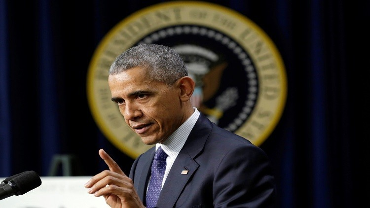 أوباما يتعهد بالرد في الوقت والمكان المناسبين على