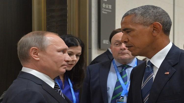 الكرملين يعلق على مزاعم تحذير أوباما لبوتين بخصوص التدخل بالانتخابات الأمريكية
