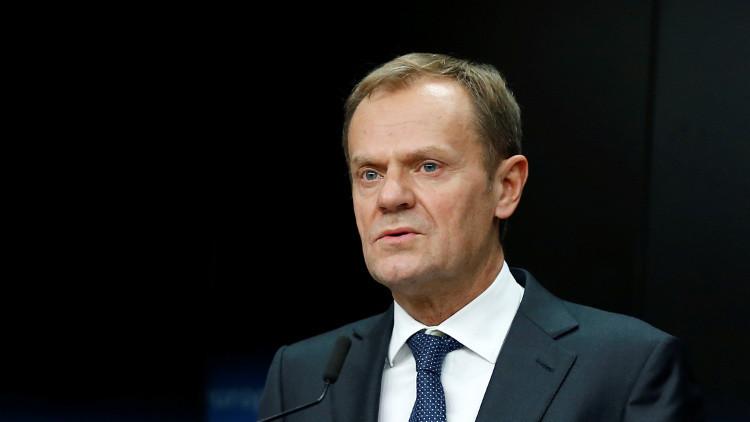توسك: الاتحاد الأوروبي مصدر مساعدات رئيسي للسوريين