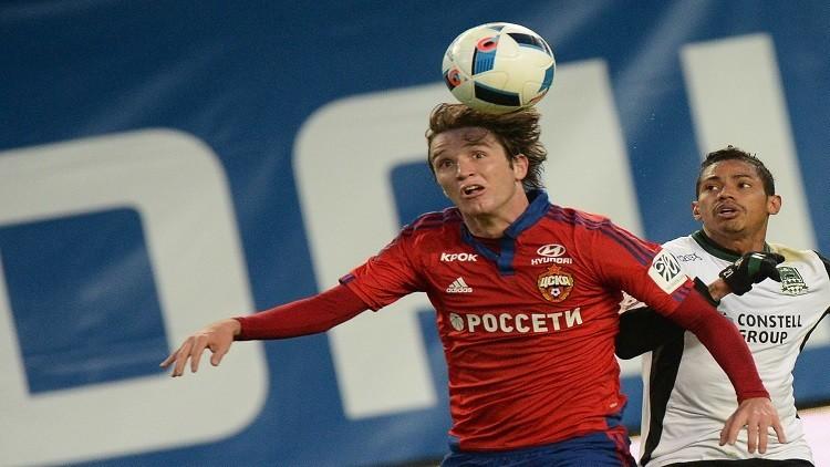 مدافع تسيسكا موسكو تحت أنظار برشلونة