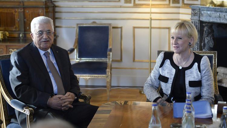 بعد رفضإسرائيلاستقبالها..وزيرة خارجية السويدفي الأراضي الفلسطينية